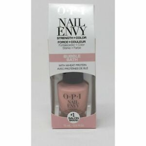 NT222 OPI Nail Envy Bubble Bath 0.5oz Strength  Color