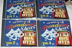 The Magic of the Broadway Shows by Various Artists CD 4 Discs in Individual Case