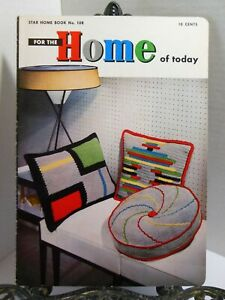 Mid Century Modern FOR THE HOME OF TODAY Retro Crochet PATTERNS Interior Decor $14.85