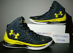 Under Armour Curry 1 ICON Basketball Shoes Men's Size 9 $130.00