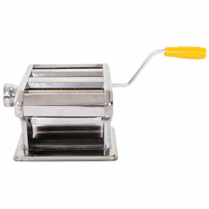 Stainless Steel Pasta Maker Fresh Noodle Machine Spaghetti Commercial Home Use