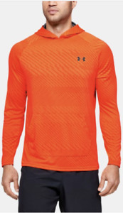 Men's Under Armour Velocity Jacquard Hoodie Heat Gear Keeps You Cool $24.99