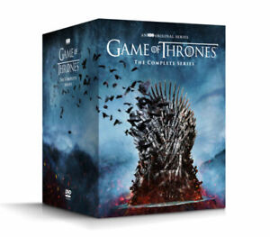 GAME OF THRONES THE COMPLETE SERIES SEASONS 1 8 DVD 38 DISC BOX SET NEW $49.90