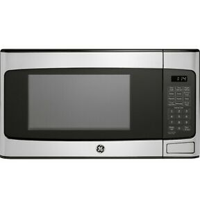 General Electric 1.1 Cu. Ft. Countertop Stainless Steel Microwave Oven Instant