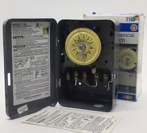 Intermatic T103 40 Amp Type 1 24 Hour 120 VAC Mechanical Timer