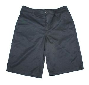 Under Armour Heat Gear Loose Black Golf Shorts Youth Size 12 $18.99