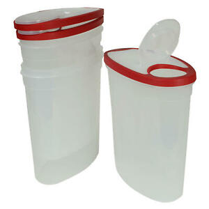 3 Pack Rubbermaid Cereal Keeper