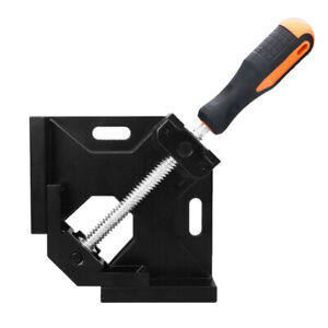 90°Right Angle Clip Clamp Tool Woodworking Photo Frame Vise Welding Clamp Holder $15.88