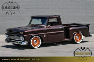 1964 Chevrolet C-10 Stepside Pickup 1964 Chevrolet C10 Stepside Pickup Root Beer Pickup Truck 6.0L V8 Holley EFI 268