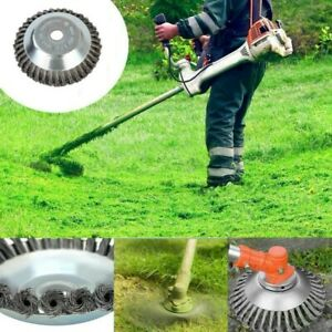 Universal Steel Wire Trimmer Head Blades Razors Lawn Mower Grass Weed Cutter USA