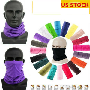 FACE BIKE MASK TUBE SCARF NECK GAITER BALACLAVA NECK GAITER BANDANA HEADBAND