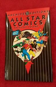 DC Archive Editions All Star Comics Archives Volume 1 Excellent Condition