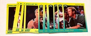 LARRY BIRD 1993 THE STAR CO. CELTICS 18 CARD SET ONE OF ONLY 500 SETS