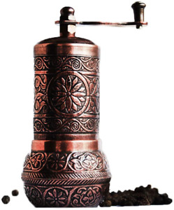 Pepper Grinder, Spice Grinder, Pepper Mill, Turkish Grinder 4 2 Antique Copper