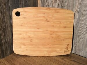 Vintage Bamboo Kitchen Cutting Board With Advertising Island Bamboo A8
