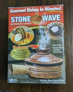 Stone Wave Microwave Cooker/AS SEEN ON TV/Gourmet Dishes In Minutes/NEW!
