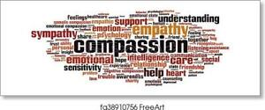 Compassion-Horizon Art Print / Canvas Print. Poster, Wall Art, Home Decor