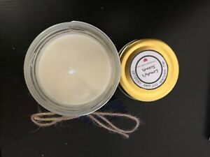Hand poured soy wax candles, Made to order. Other scents available.