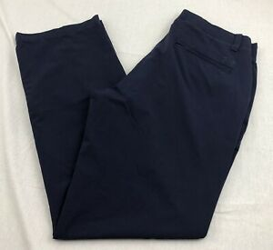 UNDER ARMOUR Loose Straight Golf Pants Navy Blue Mens 34 x 32 $39.99