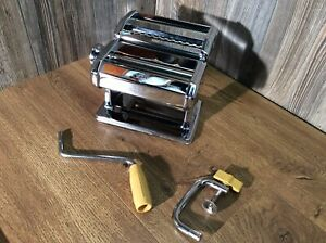 Vintage MARCATO ATLAS model 150 Pasta Machine made in Italy, Works! G4