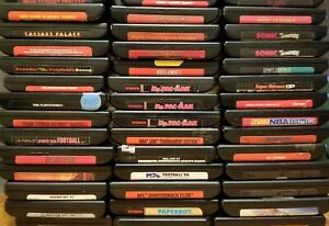 Sega Genesis Games Custom Build Lot Cleaned PinsTested Discounted Shipping $4.49