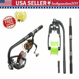 Outdoor Fishing Line Winder Reel Spooler Machine Spooling Station System HOT
