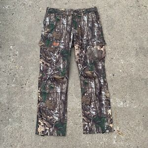 Under Armour Mens Real Tree Camo Storm Pants Size 36x32 $33.00