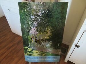 Vintage Claude Monet The Andre Meyer Galleries Lithograph NEVER USED $29.99