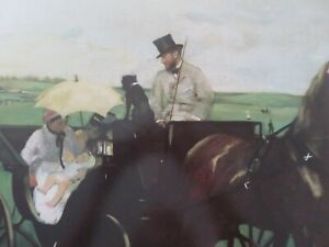 Vintage 1983 Edgar Degas Museum of Fine Arts Boston Lithograph NEVER USED $29.99