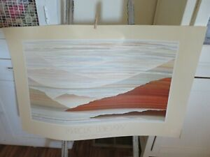 Vintage Marcus Uzilevsky HUGE LITHOGRAPH Editions Limited Gallery $49.99