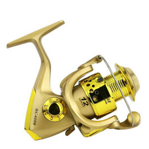 Spinning Reel Fishing Reel Left Right Arm 5.5:1 Lure Jigging Saltwater Fishing