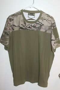 Under Armour camouflage men's Shirt size large $7.99