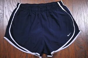 Nike Dri Fit Tempo Lined Run Shorts Navy Women's XL $6.50