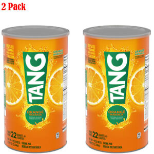 Tang Orange Drink Mix 72oz Cannister makes 22 qts. 2Packs $20.94