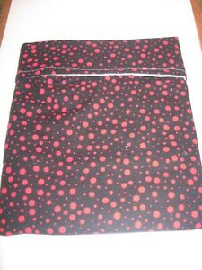 Microwave Baked Potato Bag - Black with Red Dots