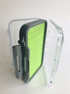Fly fishing box Silicon Double sided waterproof medium