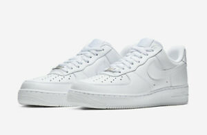 NIKE AIR FORCE 1 '07 TRIPLE WHITE 315122 111 Men's sizes 4Y 14 *BRAND NEW IN BOX $109.95