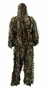 Outdoor Camo Ghillie Suit 3D Leafy Camouflage Clothing Jungle Woodland Hunting