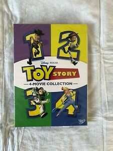 TOY STORY 1 4 4 Movie DVD Collection 4 Films Combo First Class Shipping