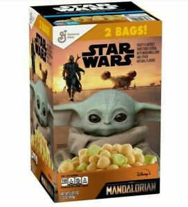 Star Wars The Mandalorian (Baby Yoda) Cereal 2 bags, 33oz LIMITED EDITION
