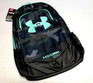 Under Armour UA Storm Scrimmage Backpack Black CAMO, Camp Travel School Bag 25L $34.99