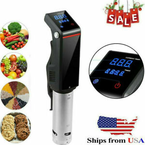 LCD Sous Vide Cooker Machine Precision Thermal Immersion Circulator w/Timing