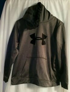 Under Armour Youth Boy's Gray Size XL Pullover Hoodie Sweatshirt EUC $17.98