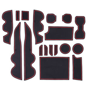 18pc Cup Door Center Console Liner Mat Trim Pad Fit For Toyota Tacoma 16 19 r $28.28