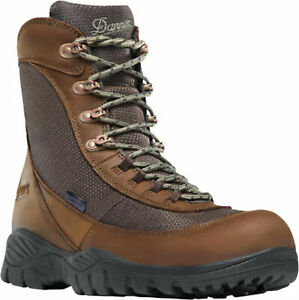 Danner Element Mens Brown Leather 8in WP Hunting Boots