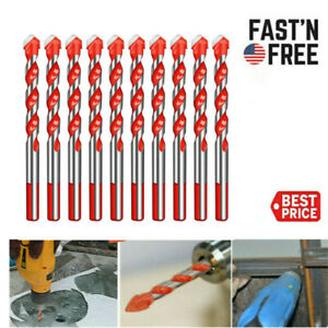 Multifunctional Ultimate Drill Bit Ceramic Glass Punching Hole Working 10cm*6mm