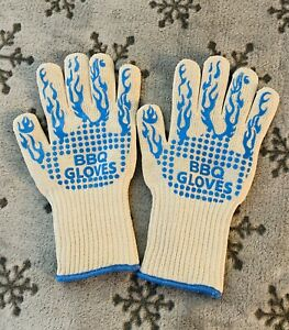 Silicone Heat Resistant Cooking Oven Mitt BBQ Hot Grilling Gloves