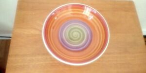 Multi Colored Pasta Serving Bowl By World Market made in Italy