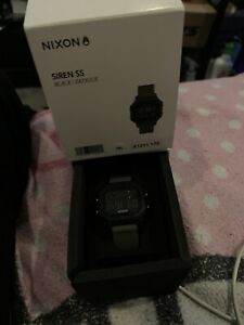 nixon watch men Siren SS Black fatigue
