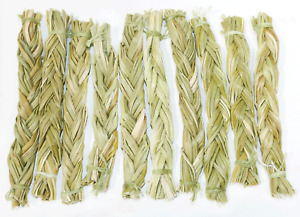 Sweet Grass Braids 4 5quot; Bulk for Positive Energy Smudging and Cleansing